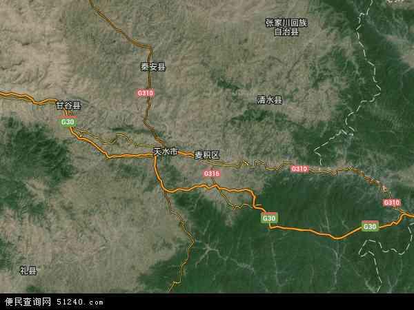 麦积区地图 麦积区卫星地图 麦积区高清航拍地图 麦积区高清卫星地图