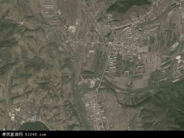 中国辽宁省大连市瓦房店市太阳地图(卫星地图)