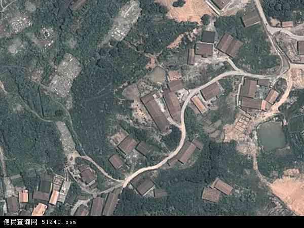 中国湖南省怀化市鹤城区坨院地图(卫星地图)