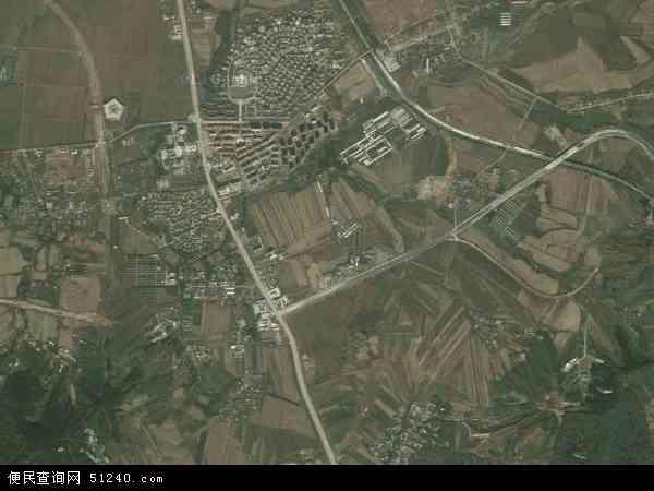 中国辽宁省沈阳市苏家屯区佟沟地图(卫星地图)
