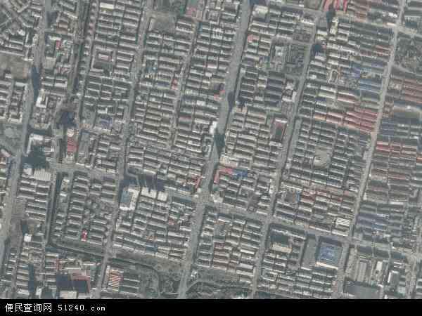 中国辽宁省辽阳市白塔区武圣地图(卫星地图)