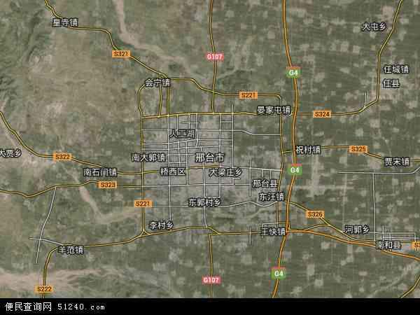 邢台市地图 - 邢台市卫星地图