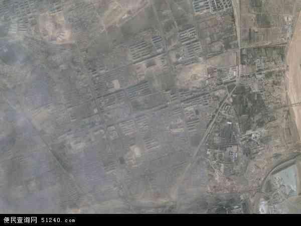 中国内蒙古自治区乌海市乌达区巴音赛地图(卫星地图)