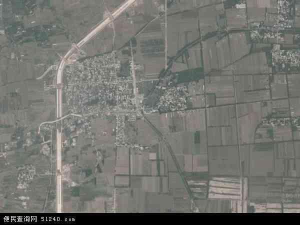 中国河南省新乡市辉县市薄壁镇地图(卫星地图)