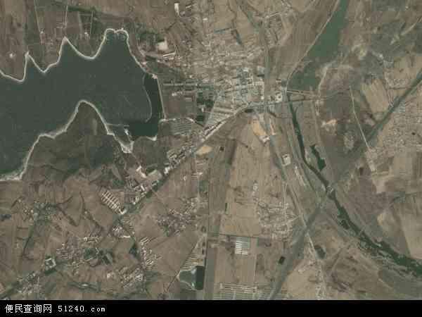 中国辽宁省大连市普兰店市大刘家地图(卫星地图)
