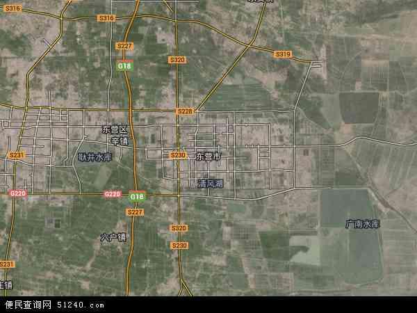 东营市高清航拍地图 - 2019年东营市高清卫星地图