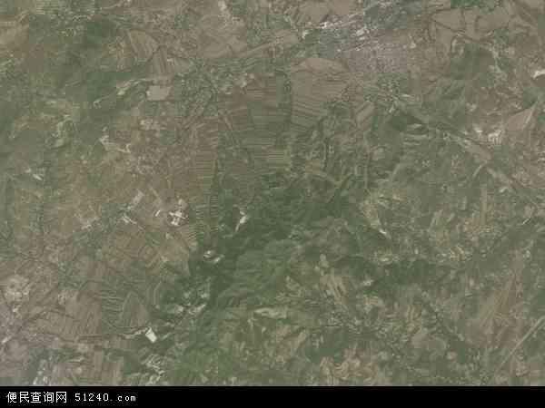 中国辽宁省朝阳市北票市冠山地图(卫星地图)