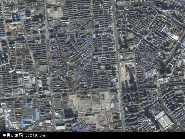 中国湖北省襄阳市樊城区汉江地图(卫星地图)