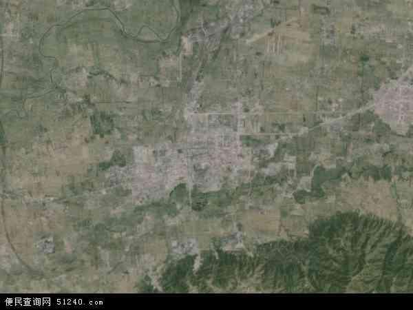 侯马市地图 - 侯马市卫星地图