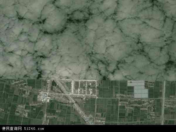 中国江苏省宿迁市沭阳县胡集镇地图(卫星地图)