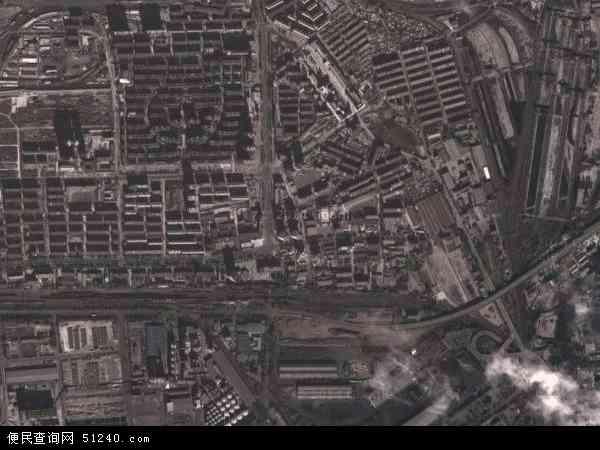 中国河北省秦皇岛市海港区海滨路地图(卫星地图)