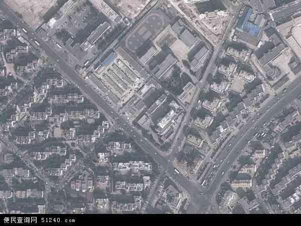 中国山东省青岛市市北区海伦路地图(卫星地图)