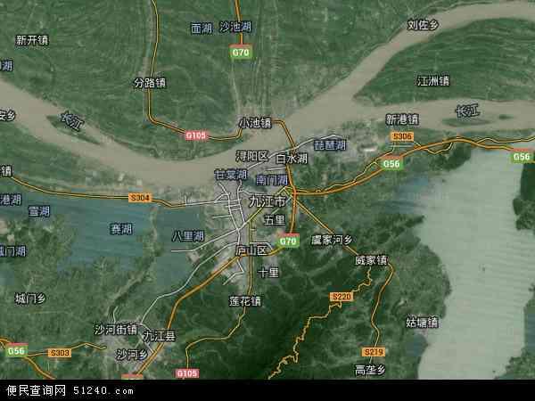 九江市地图