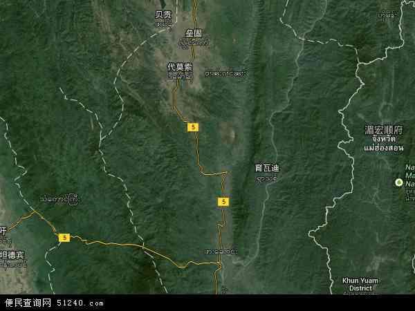 克耶邦卫星地图 - 克耶邦高清卫星地图 - 克耶邦高清航拍地图 - 2018