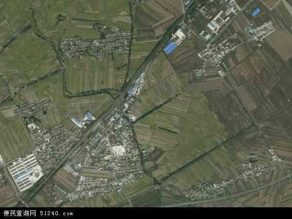 中国吉林省四平市公主岭市南崴子地图(卫星地图)图片