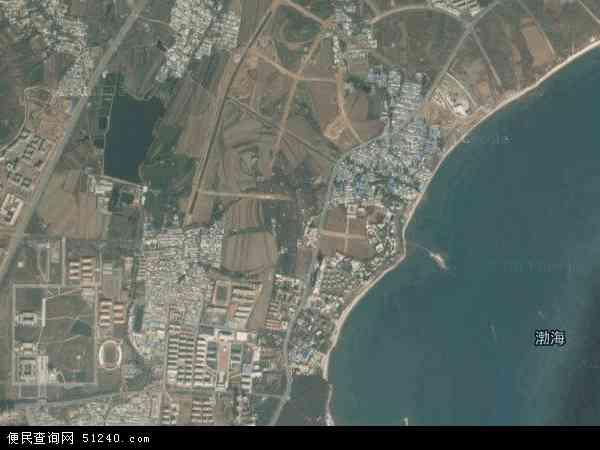 中国辽宁省葫芦岛市兴城市四家屯地图(卫星地图)