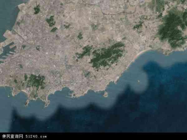 市南区卫星地图 - 市南区高清卫星地图 - 市南区高清航拍地图 - 2017