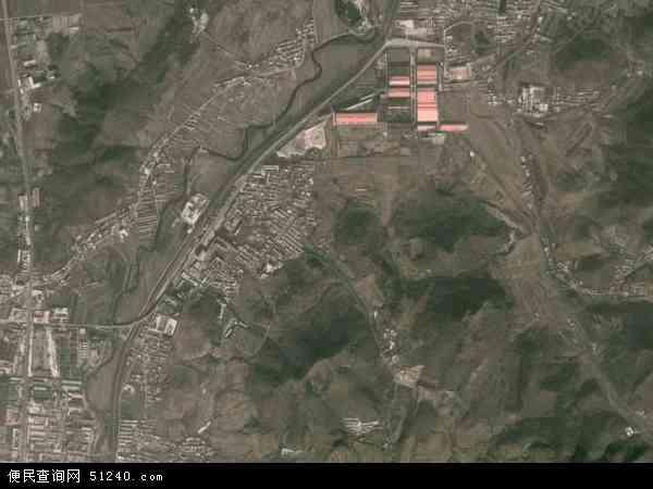 中国辽宁省大连市瓦房店市瓦窝镇地图(卫星地图)