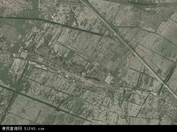 中国辽宁省鞍山市海城市西四镇地图(卫星地图)