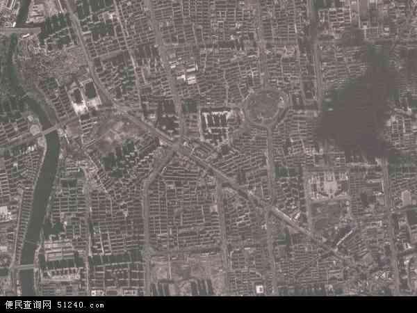 中国河北省秦皇岛市海港区西港路地图(卫星地图)