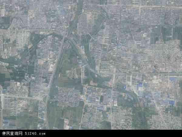 中国山东省泰安市泰山区徐家楼地图(卫星地图)