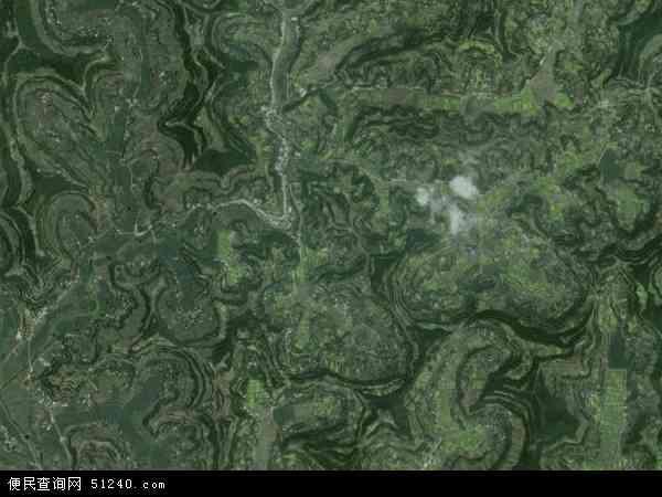 紫河镇高清卫星地图