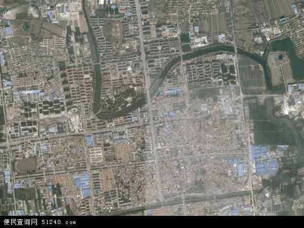 中国河北省廊坊市三河市泃阳镇地图(卫星地图)