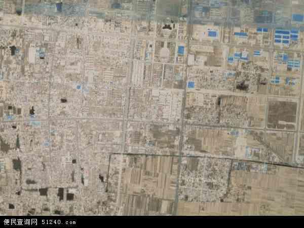 中国河北省邢台市威县洺州镇地图(卫星地图)