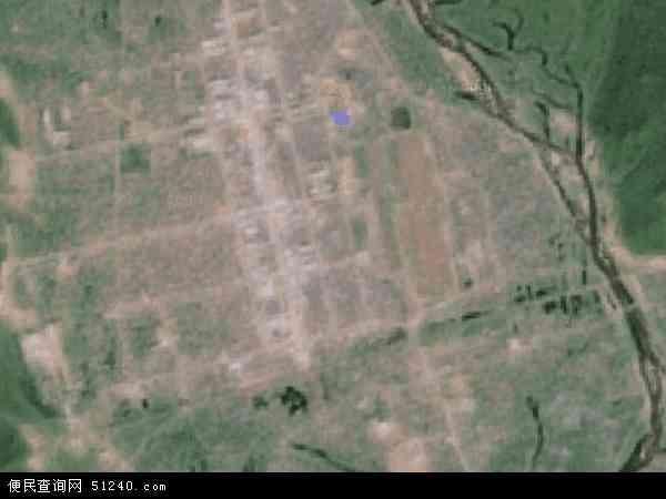 阿里河镇卫星地图 - 阿里河镇高清卫星地图