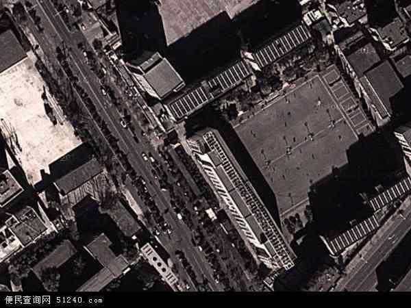中国河北省秦皇岛市海港区白塔岭地图(卫星地图)