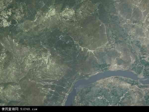 中国四川省凉山彝族自治州金阳县德溪乡地图