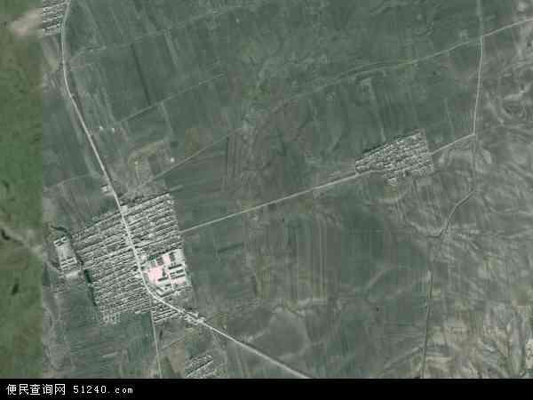 中国黑龙江省哈尔滨市木兰县大贵镇地图(卫星地图)