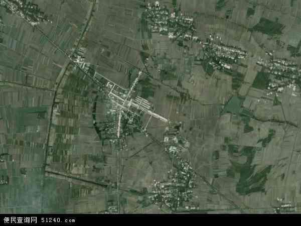 中国安徽省宿州市泗县墩集镇地图(卫星地图)