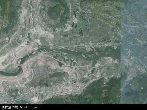 信息中心 重庆开县高清卫星地图   重庆开县临江镇为何百度地图不显示