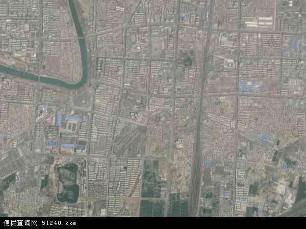 中国河南省漯河市源汇区干河陈地图(卫星地图)