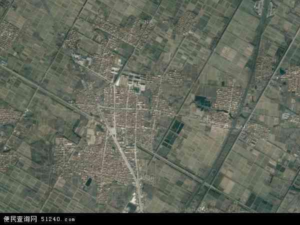 中国江苏省连云港市赣榆县赣马镇地图(卫星地图)
