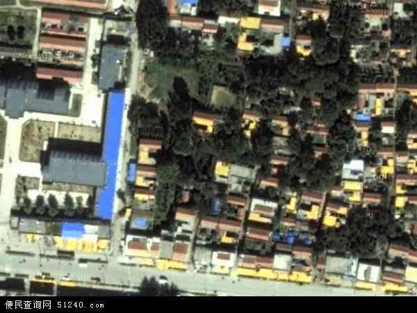 中国山东省泰安市新泰市果都镇地图(卫星地图)