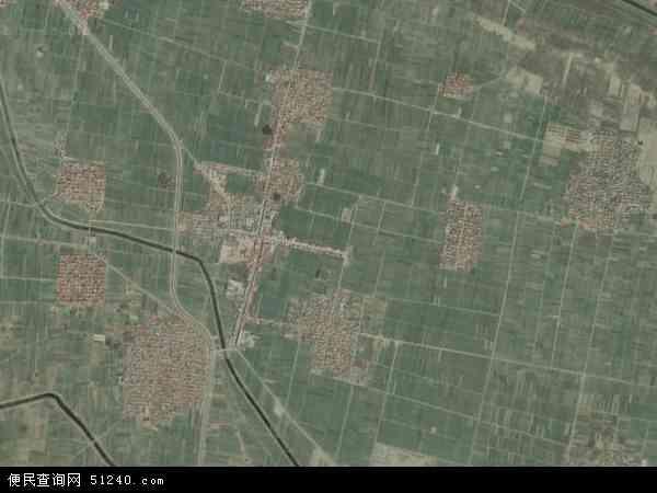中国河南省郑州市中牟县韩寺镇地图(卫星地图