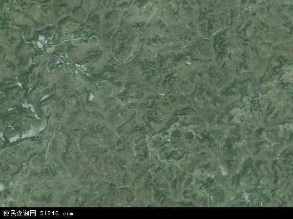 中国重庆市垫江县鹤游镇地图(卫星地图)