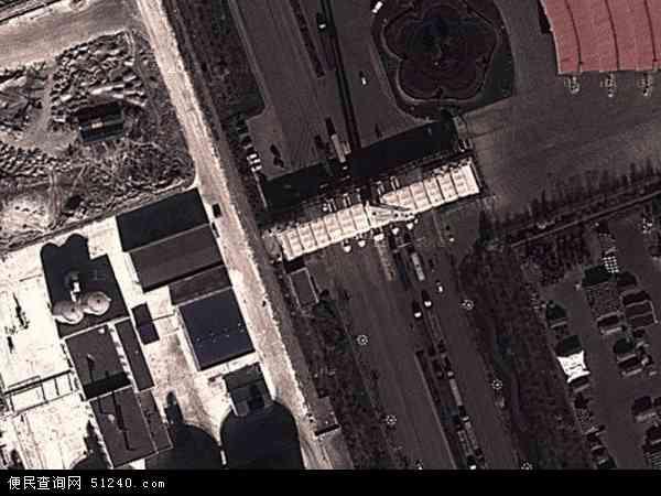 中国河北省唐山市乐亭县海港区地图(卫星地图)