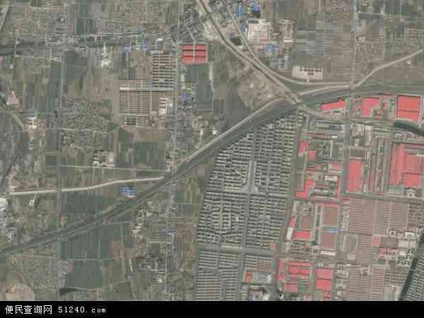 中国山东省烟台市龙口市芦头镇地图(卫星地图)