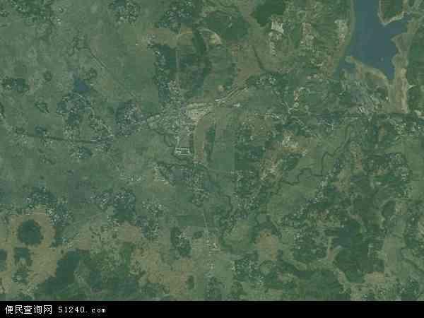中国广西壮族自治区贵港市桂平市马皮乡地图(卫星地图)