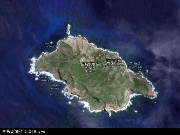 皮特凯恩卫星地图 - 皮特凯恩高清卫星地图 - 皮特凯恩高清航拍地图 - 2016年皮特凯恩高清卫星地图