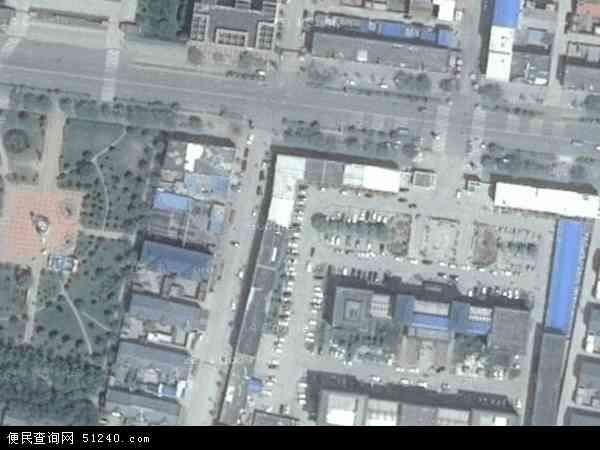 中国河南省新乡市长垣县蒲东地图(卫星地图)