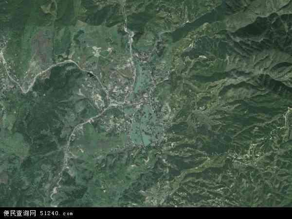 中国福建省三明市大田县奇韬镇地图(卫星地图)