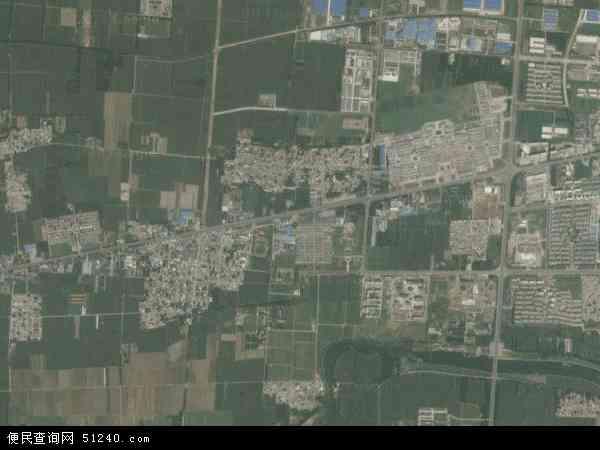 中国山东省济宁市曲阜市时庄地图(卫星地图)