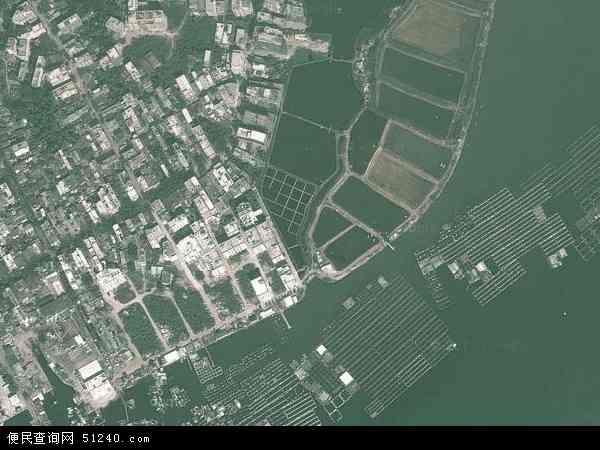 三沙市地图 - 三沙市卫星地图