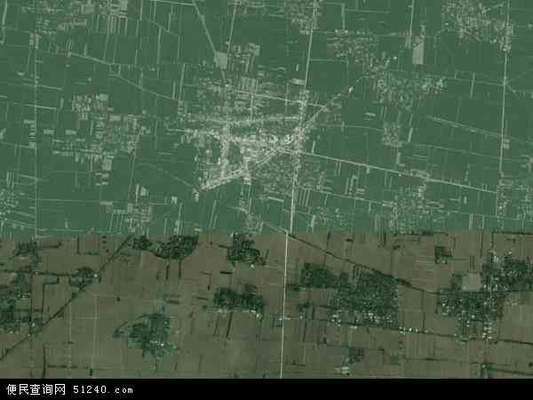 中国安徽省阜阳市太和县三塔镇地图(卫星地图)
