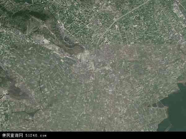 中国云南省玉溪市通海县四街镇地图(卫星地图)