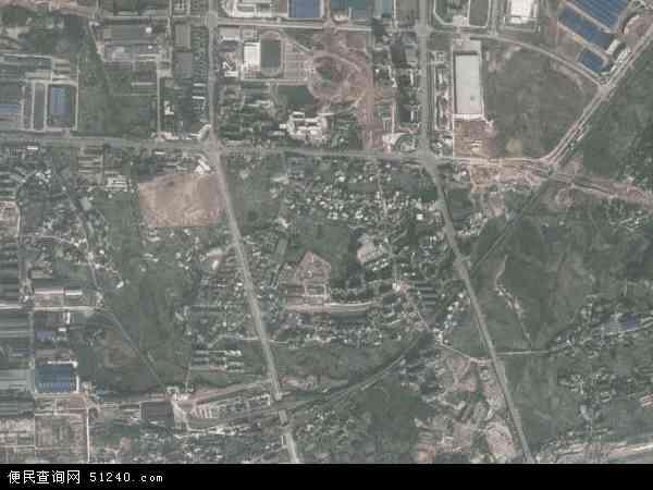 中国湖南省湘潭市岳塘区书院路地图(卫星地图)